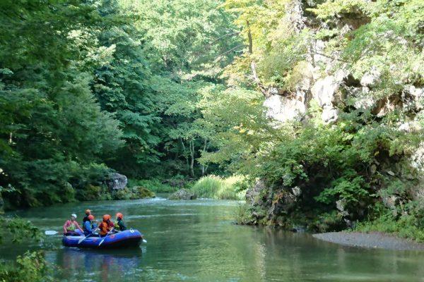 初學者也能輕鬆體驗的泛舟活動